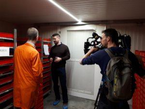 Slowaakse tv bij Wadudu
